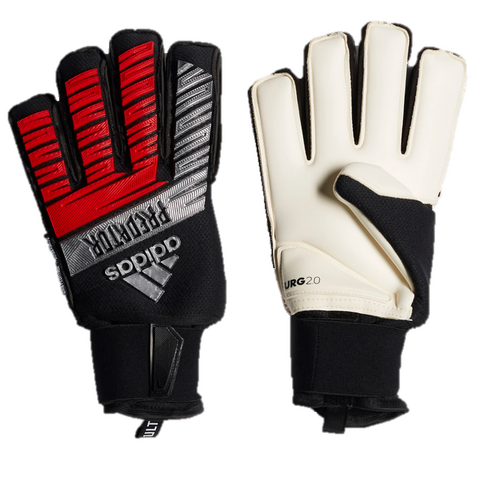 Predator Ultimate Keeper Gloves [Black/Silver/Red]