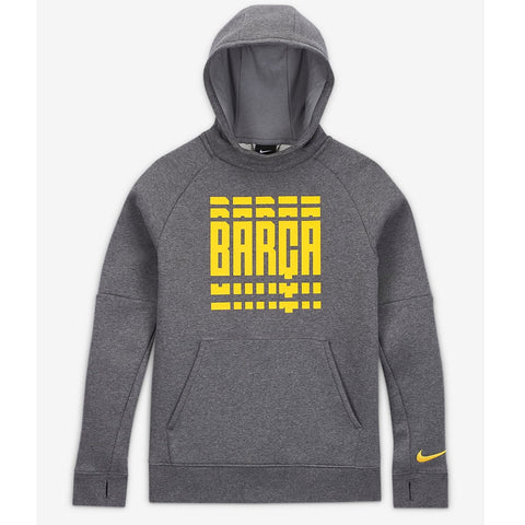 Youth FC Barcelona Fleece Pullover Hoodie