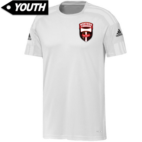 Westside Timbers WDP White Jersey [Youth]