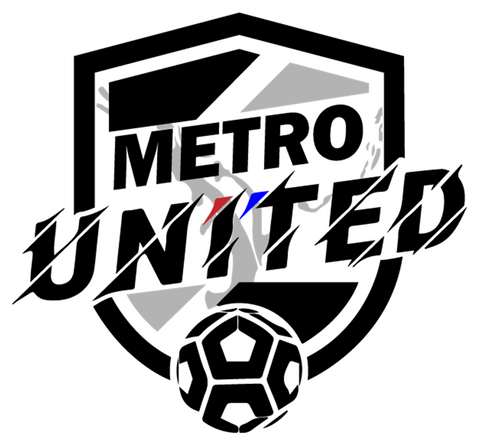 Metro United Supporters Sticker (2-Pack)