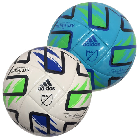 MLS Nativo XXV Club Soccer Ball [2 Colors]
