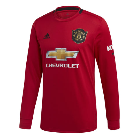 Manchester United 2019/2020 Home Jersey LS