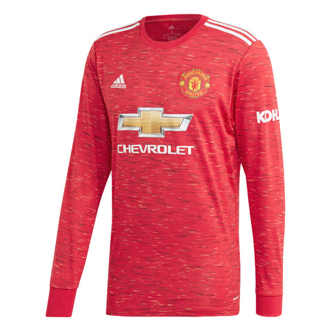 Manchester United 20/21 Home L/S Jersey