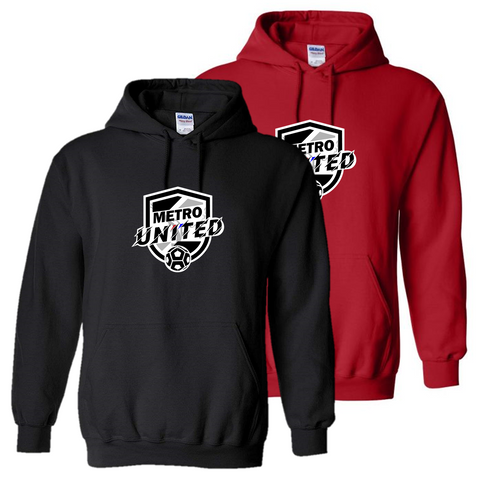 Metro United Hooded Sweatshirt *Optional*