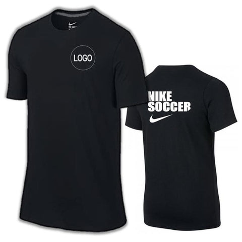 Club 'NIKE SOCCER' Tee [Black]