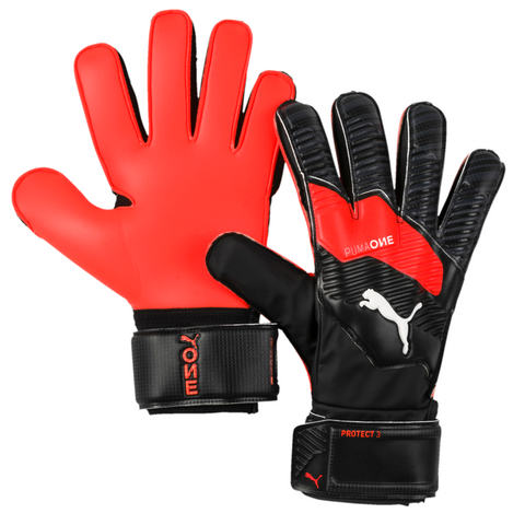 One Protect 3 Keeper Glove [Black/Energy Red]
