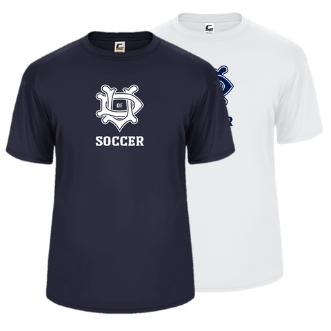 University of Dallas Soccer Performance Tee