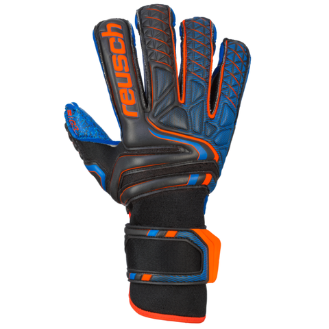 Attrakt G3 Fusion Evolution FS Keeper Glove [Black/Shock Orange]