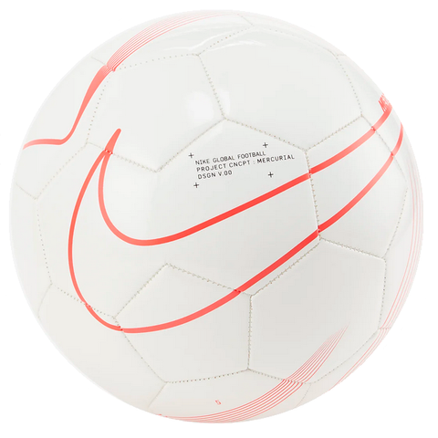 Mercurial Fade Soccer Ball [White/Red]