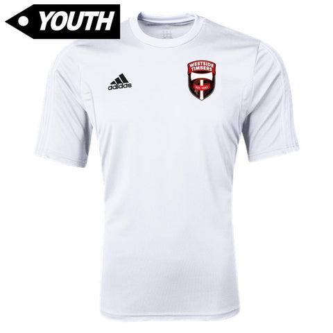 Westside Timbers WDP/Tots White Jersey [Youth]