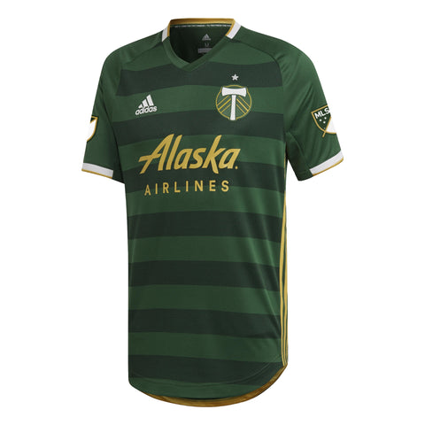 Portland Timbers 2019/20 Home Authentic Jersey