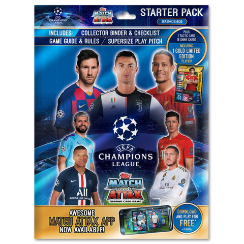 2019/20 UEFA Champions League Trading Card Starter Pack