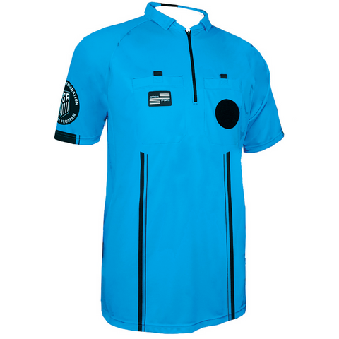 USSF Pro Referee Jersey S/S [Blue]