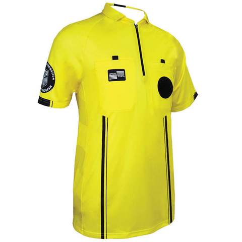 Men's USSF Pro Referee Jersey S/S [Yellow]