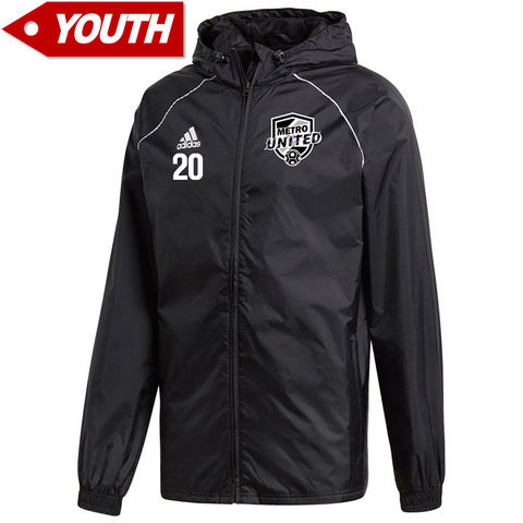 Metro United Youth Rain Jacket *Optional*