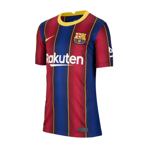 Youth FC Barcelona 2020/21 Stadium Home Jersey