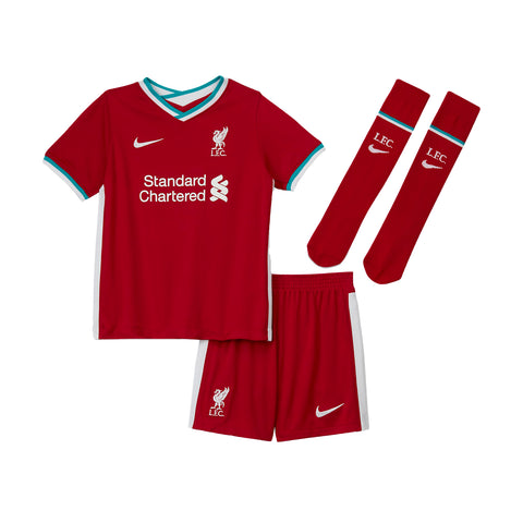 Kids Liverpool FC 2020/21 Home Mini Kit