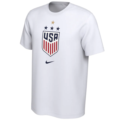 Men's USWNT 2019 WC Champions Tee [White]
