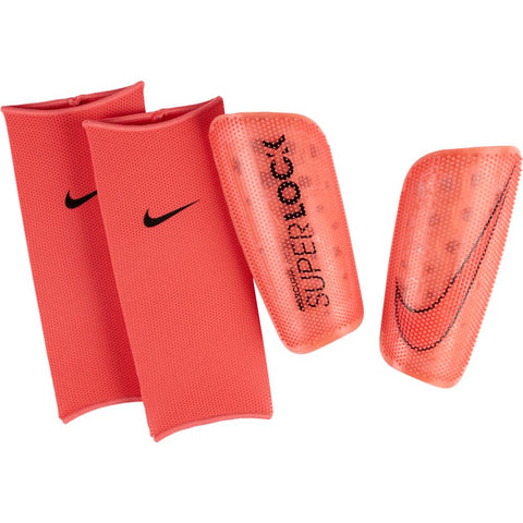 Mercurial Lite SuperLock Shin Guard [Laser Crimson]