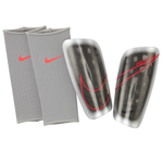 Mercurial Lite Shin Guard [Silver/Black/Laser Crimson]