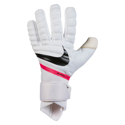 Phantom Elite GK Gloves [White/Pink]