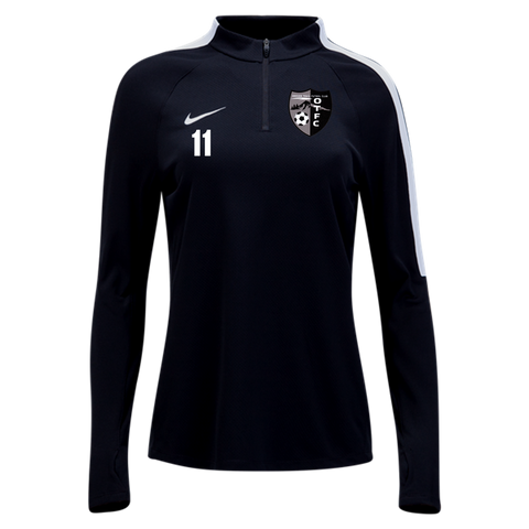 Oregon Trail FC Quarter-Zip Top Womens