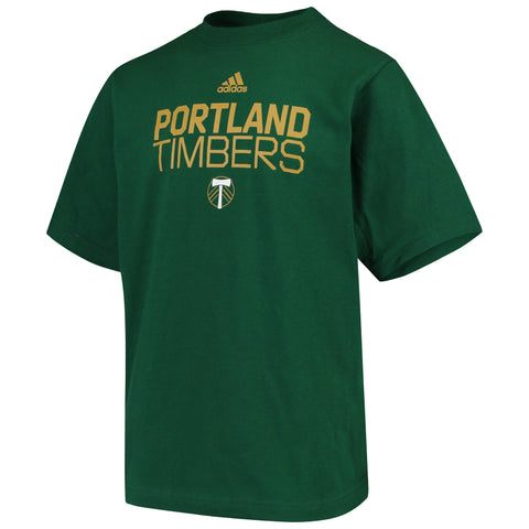 Youth Portland Timbers Locker Stacked Tee