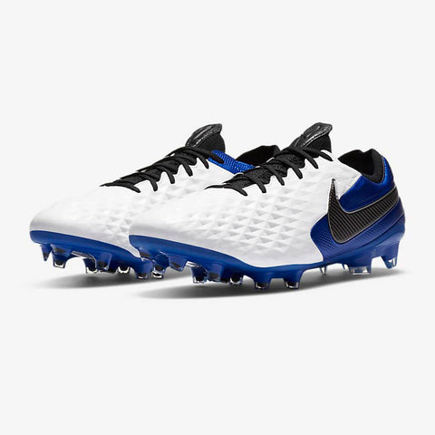 Tiempo Legend 8 Elite FG [White/Blue]