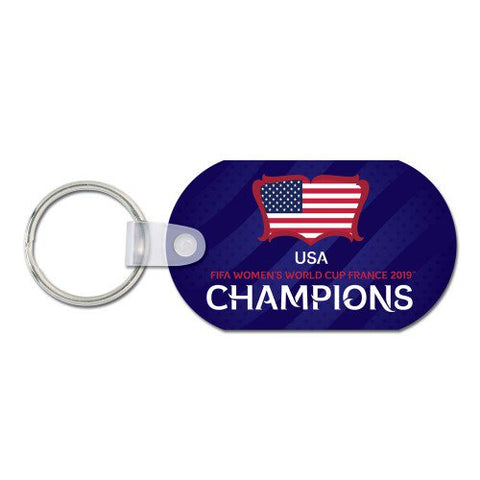 USA Women's 2019 World Cup Champions Keychain