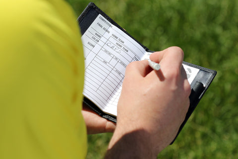 Referee Score Sheet