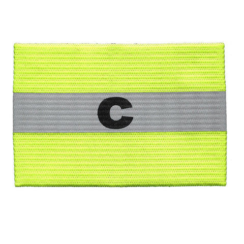 Reflective Captain Arm Band [Youth & Adult]