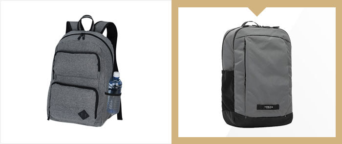 Generic bag vs Timbuk2 Parkside 2.0