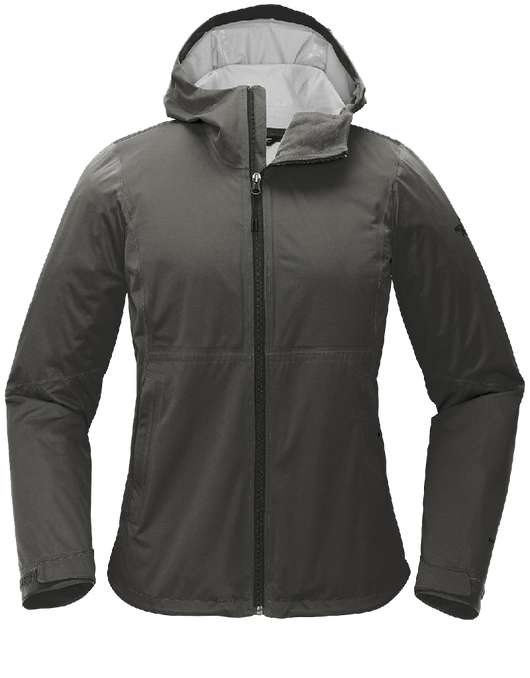 Asphalt Grey / SM Custom The North Face Ladies All-Weather DryVent Stretch Jacket