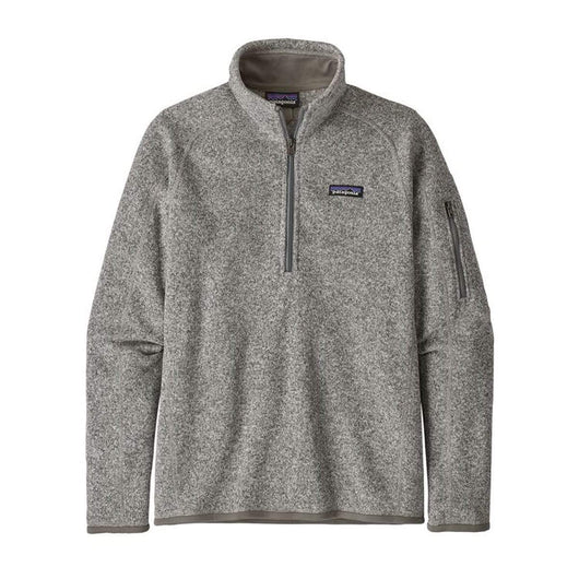 Birch White / XS Custom Patagonia Women's Better Sweater 1/4-Zip