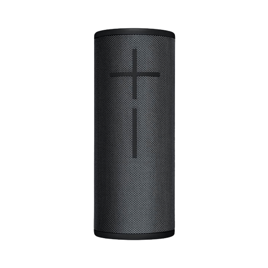 Black Custom Boom 3 Portable Bluetooth Speaker