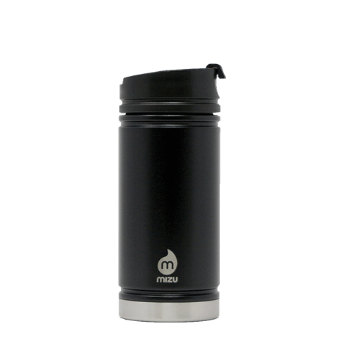 Black Custom V5 Coffee Tumbler