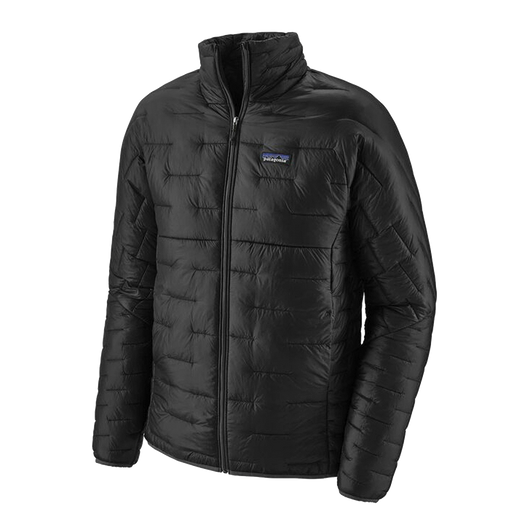 Black / XS Custom Patagonia Men's Micro Puff Jacket