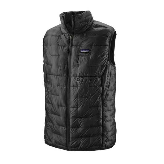 Black / XS Custom Patagonia Men's Micro Puff Vest