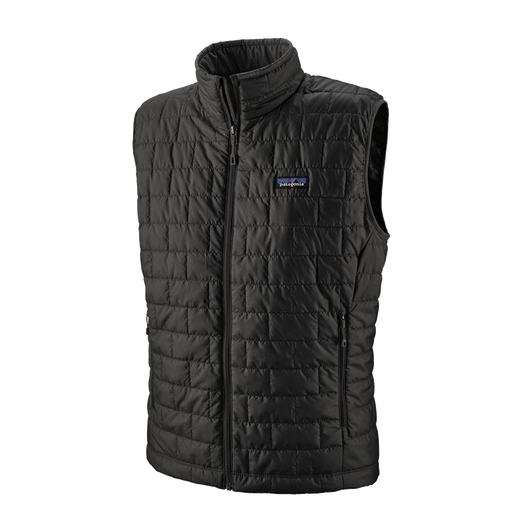Black / XS Custom Patagonia Men's Nano Puff Vest
