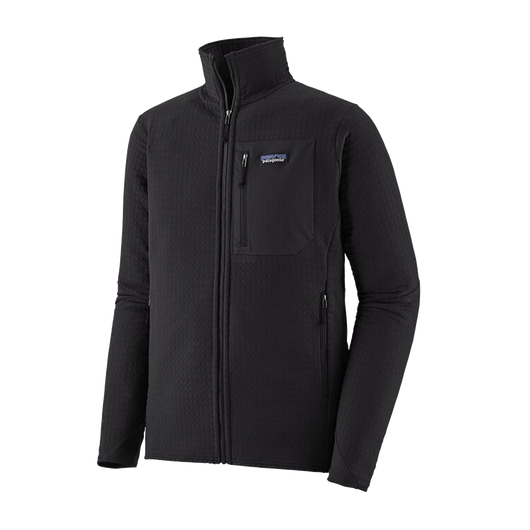 Black / XS Custom Patagonia Men's R2 TechFace Jacket