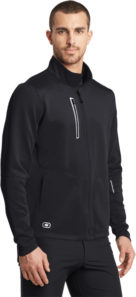 Blacktop / XS Custom ENDURANCE Men's Fulcrum Full-Zip