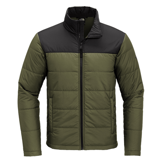 Burnt Olive Green / SM Custom The North Face Everyday Insulated Jacket