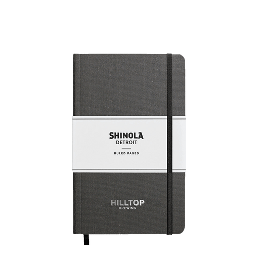 Charcoal Gray Custom Shinola Journal - Softcover, Medium