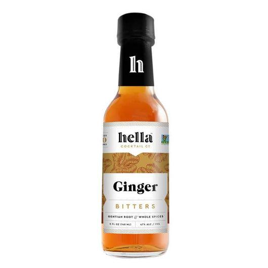 Custom Hella Cocktail Co Ginger Bitter 5oz