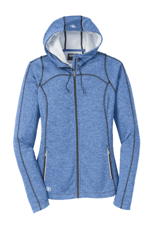 Electric Blue / XS Custom ENDURANCE Women's Pursuit Full-Zip