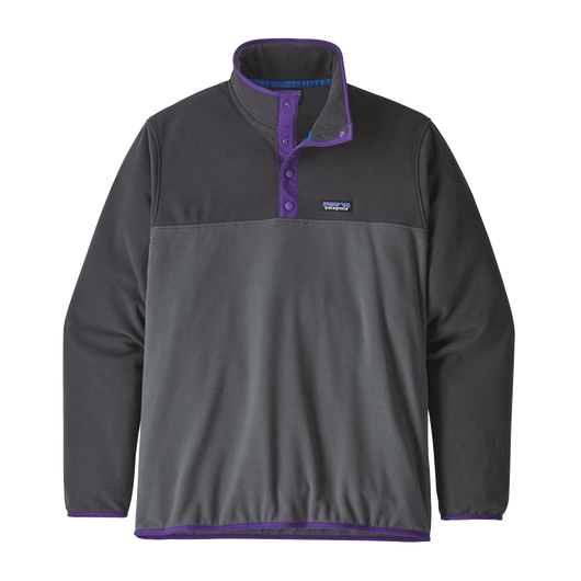 Forge Grey / 2XS Custom Patagonia Men's Micro D Snap-T Pullover