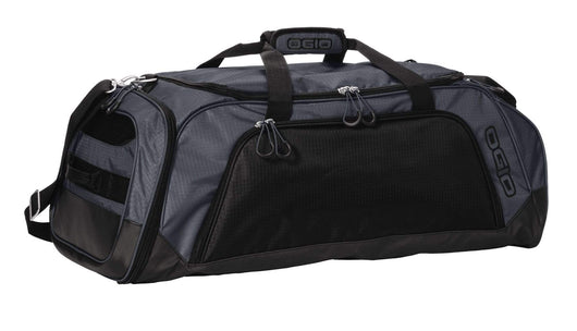 Gear Grey/Black Custom OGIO Transition Duffel