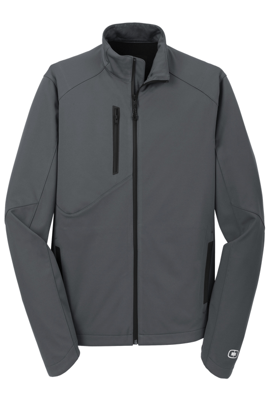 Gear Grey / XS Custom ENDURANCE Men's Crux Soft Shell