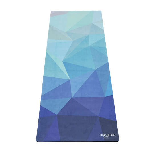 Geo Blue Custom Commuter Yoga Mat