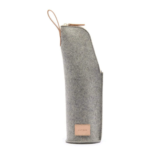 Granite Custom Merino Wool Wine Pouch